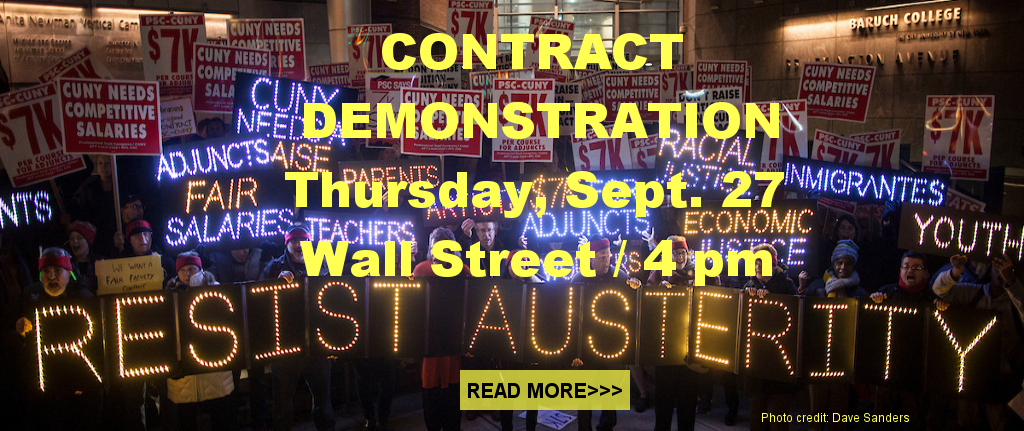 Sept. 27 Contract Rally