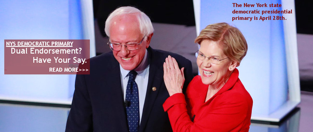 Should the PSC endorse Sanders and Warren?
