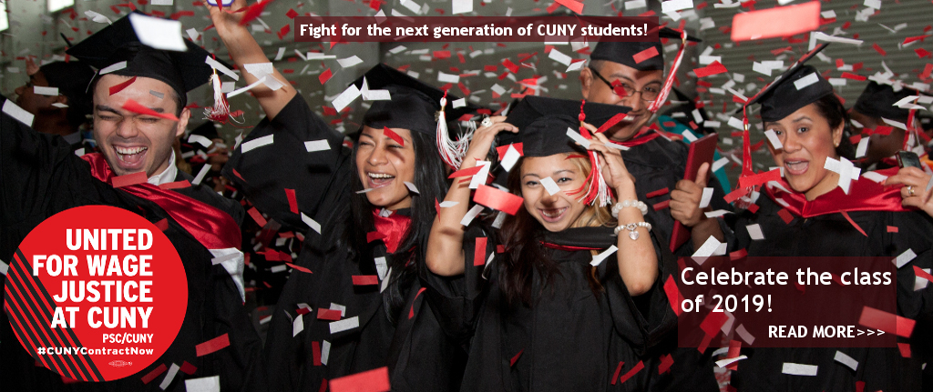 CUNY graduations and wage justice