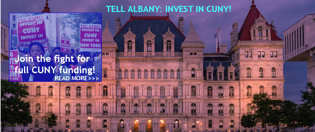 Tell Albany: Invest in CUNY!