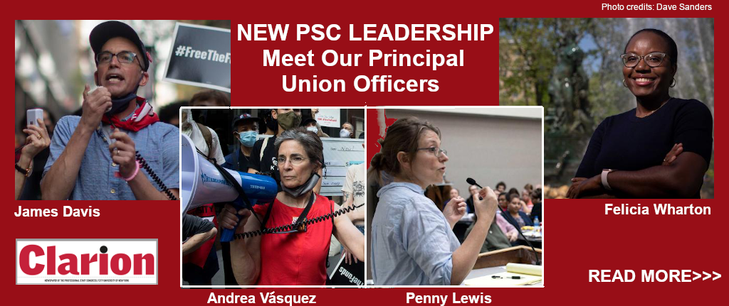 Meet the new principal officers
