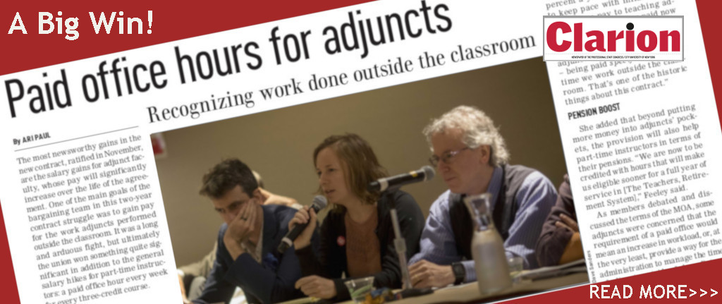 Paid Adjunct Office Hours