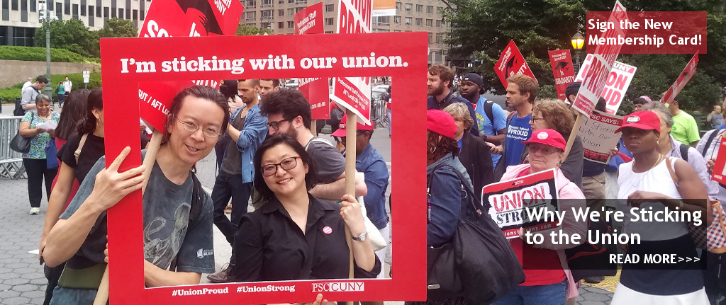 Sticking to the union