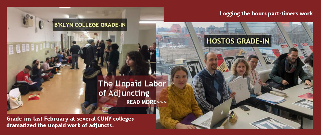 The unpaid work of adjuncting