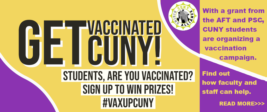 Students: Get Vaccinated!