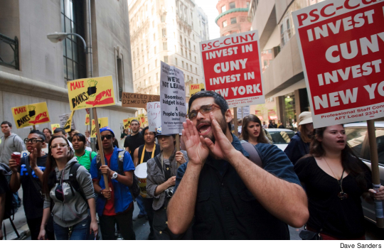 May 12 Message to Wall St : 'Tax the Rich, Stop the Cuts